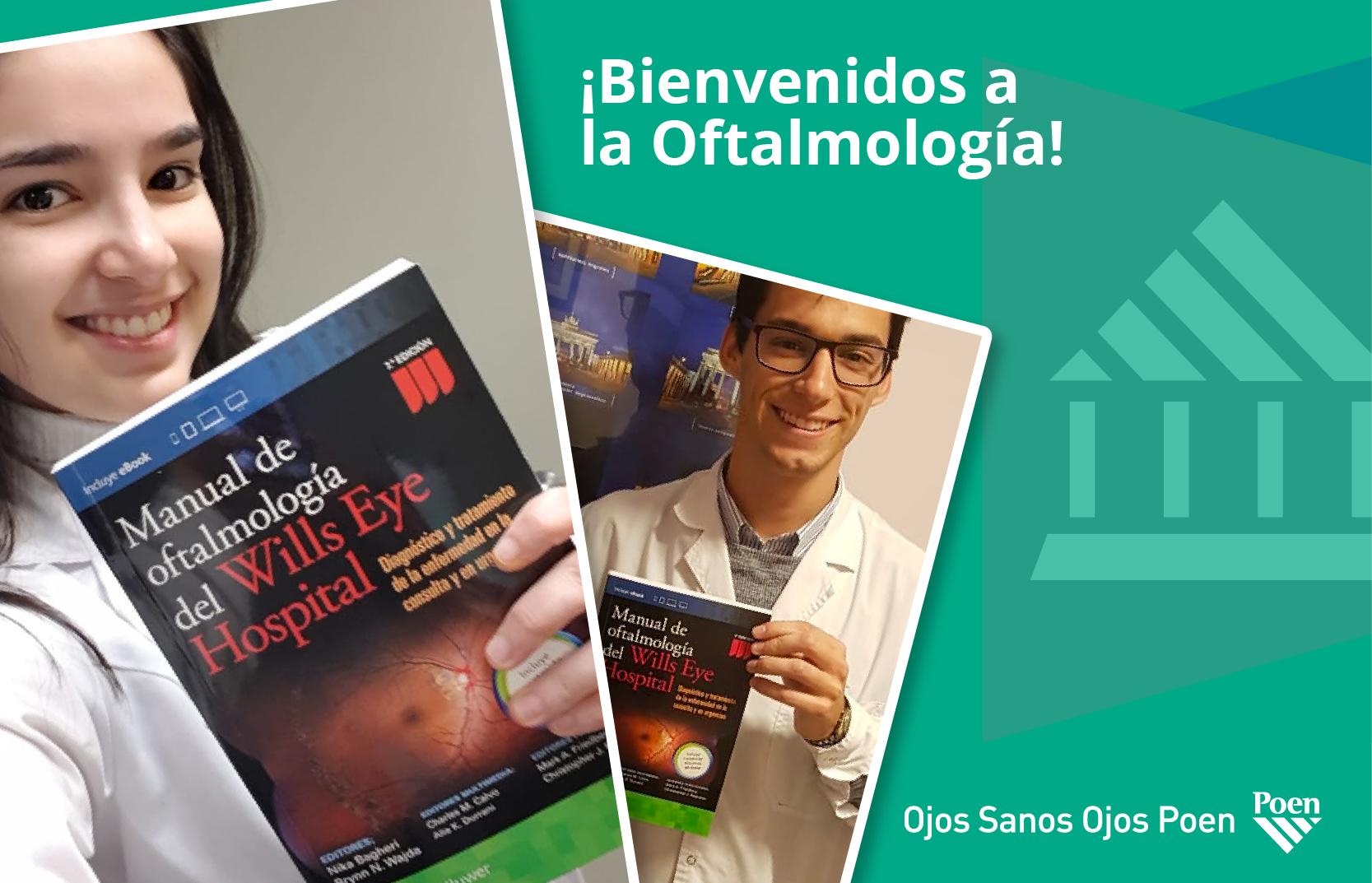 Bienvenidos a la Oftalmología
